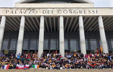 תלמידי בת ים כובשים את איטליה
