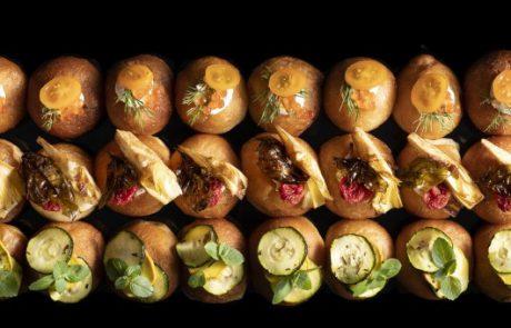 חדש לחנוכה: מגשי אירוח של סופגניות מיני בטעמים שונים