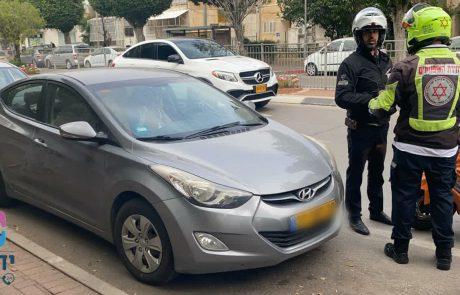 """הצלה נוספת של ארגון """"ידידים בדרכים"""" – פעוטה בת חצי שנה ננעלה ברכב"""